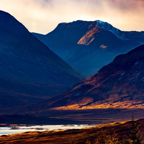 (297) Loch Loyne to Creag A' Mhaim, Glen