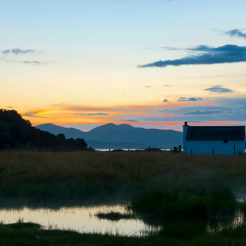 (704) Fishing Station at Loch Feochan, O