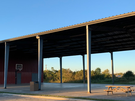 Community Basketball Court/Covered Pavilion