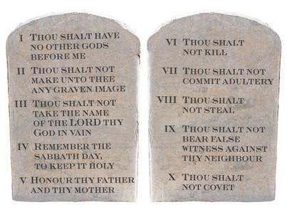 God Breaks a Commandment?