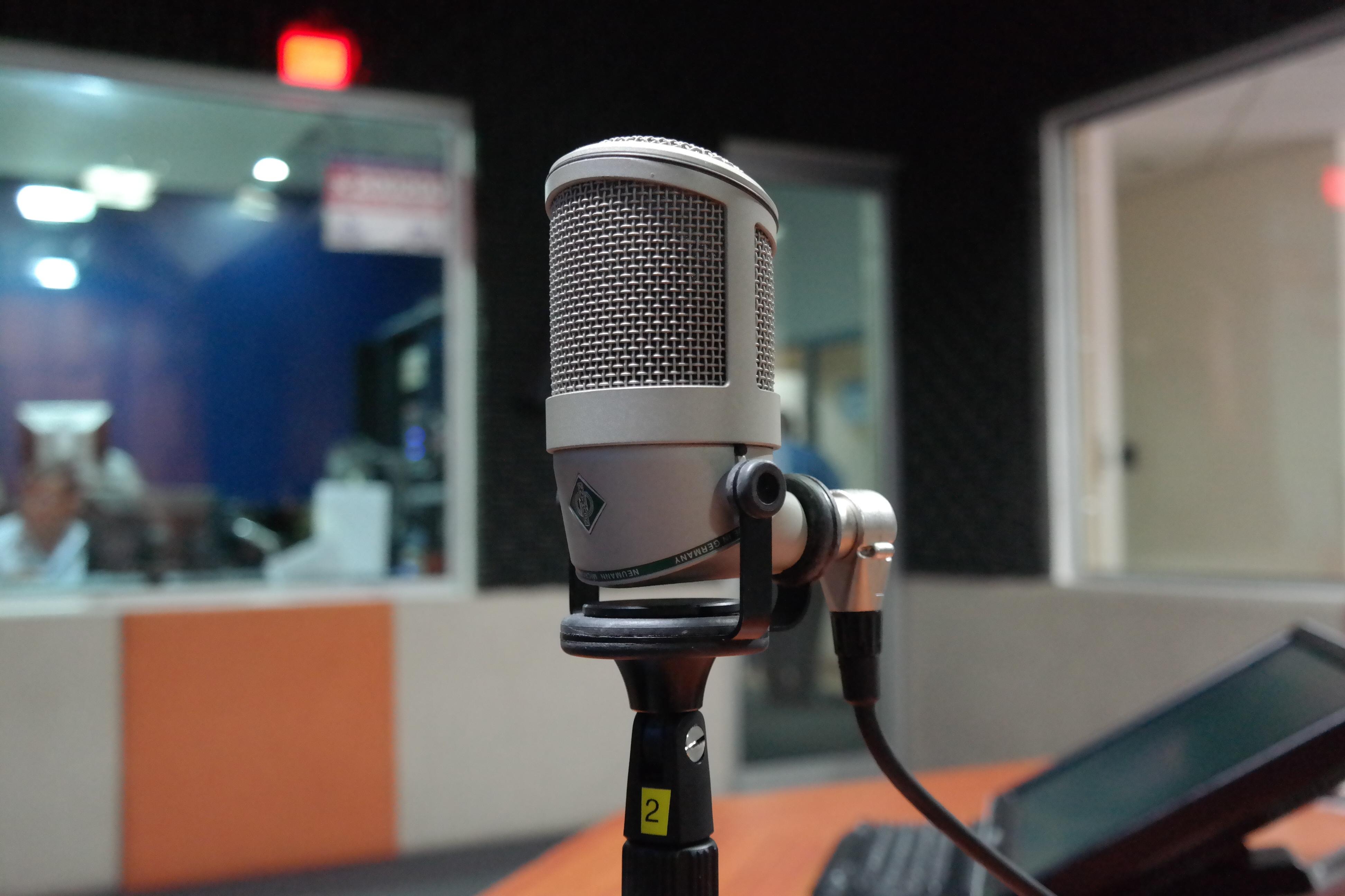 Recordings in studios