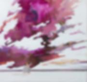 Wolkenspiel_85x90cm(HxB)_Öl_auf_Leinwand