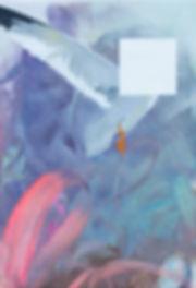 Malerei, Painting, Square Bird Anonymus, 70x48cm, Öl auf Leinwand, 2020