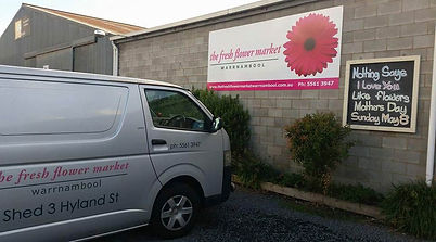 About Us | Deliveries | The Fresh Flower Market Warrnambool