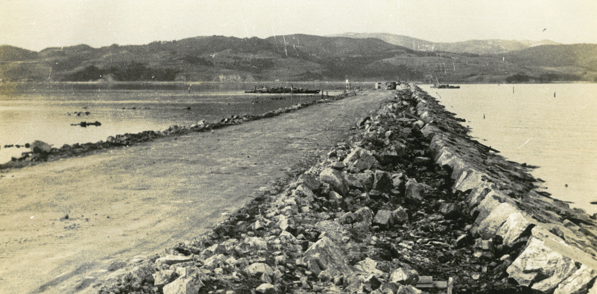 昭和30年代の錦海湾