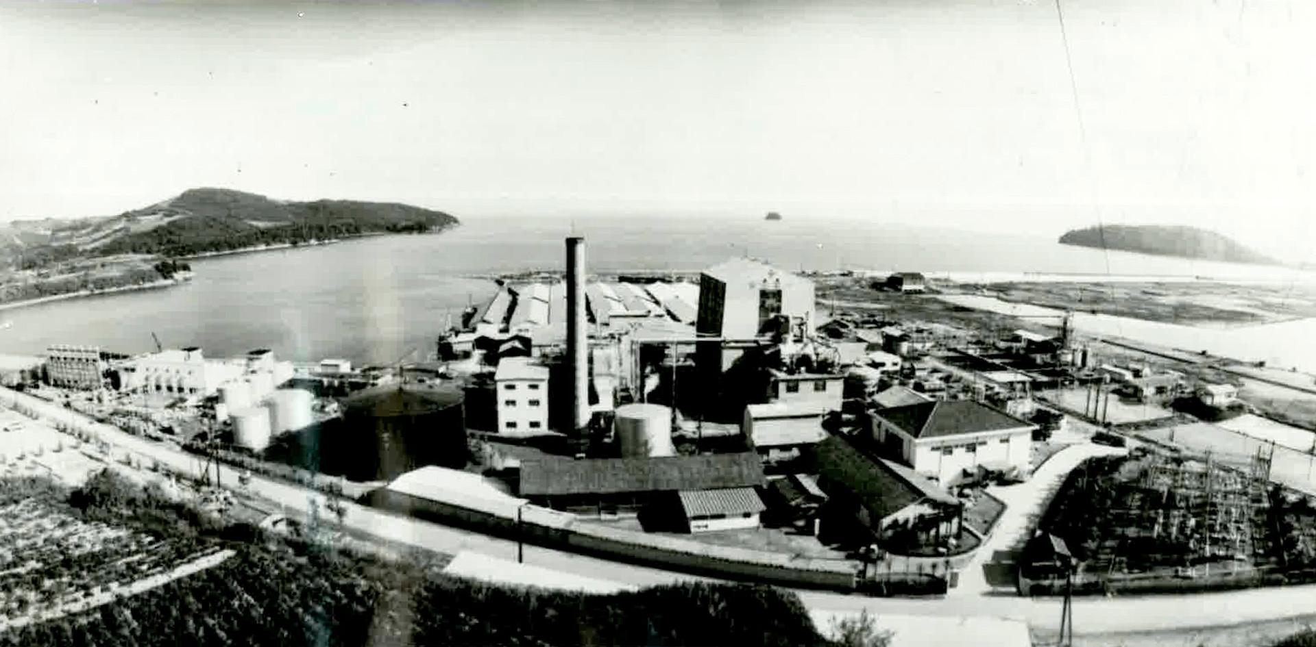 昭和40年代の錦海塩業株式会社
