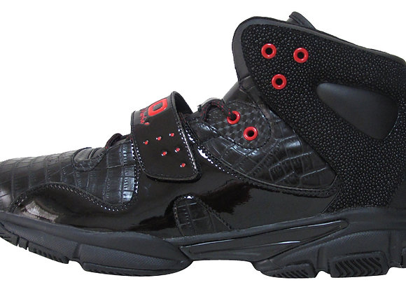 "Robert ""50"" Martin Performance Basketball Shoe - Black/Red Colorway"