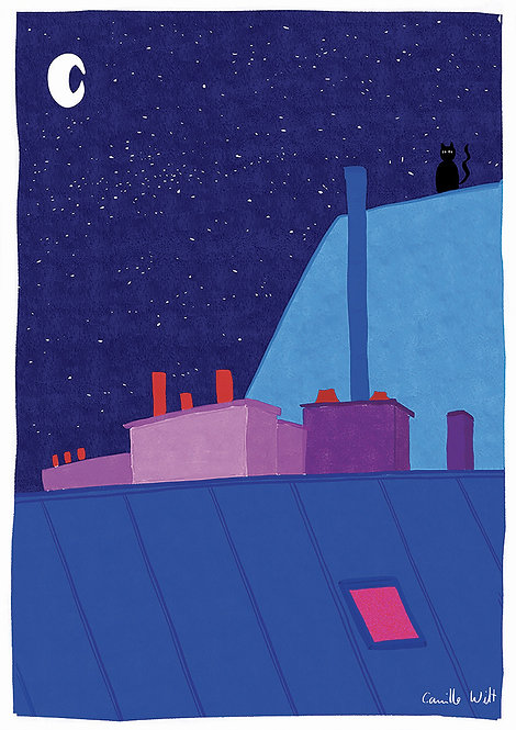 Nuit bleue n°2