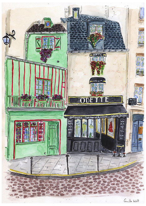 Le cafe Odette