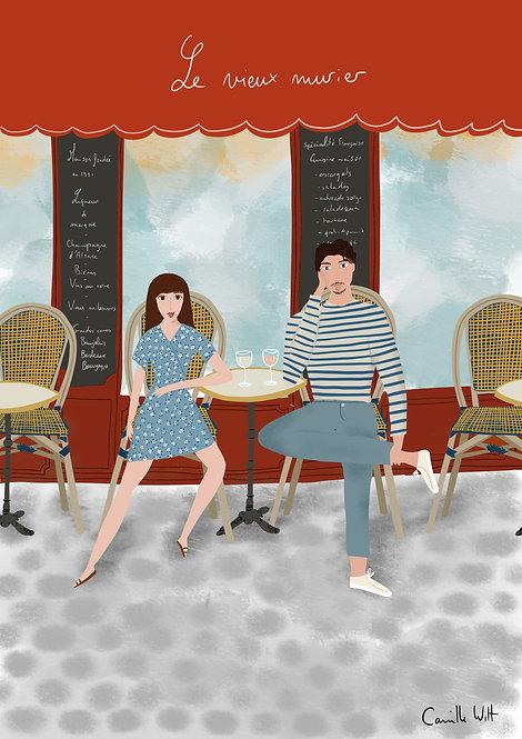 Café à deux PERSONNALISABLE