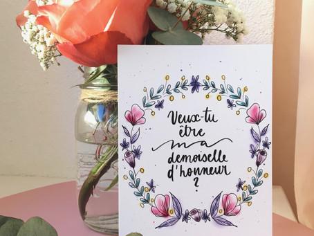 L'histoire de la Pochette Demoiselle d'honneur
