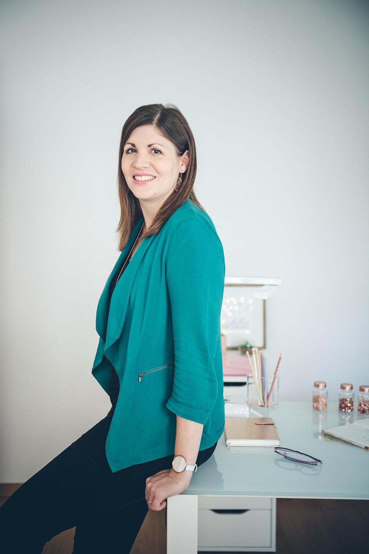 Coralie Rufener Fondatrice/Créatrice de My Wedding Box Suisse