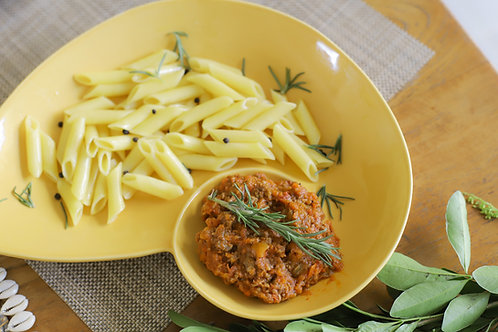 Saus Bolognese Vegetarian: Saus Bolonnese Vegetarian