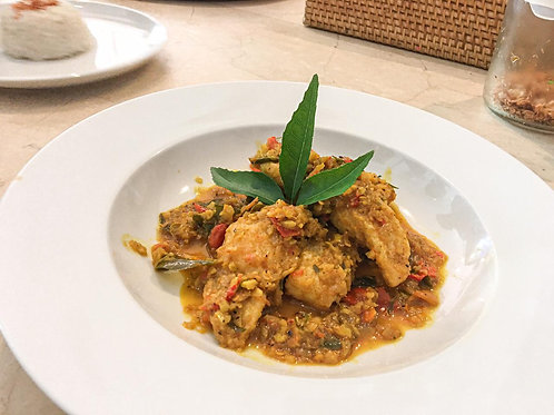 Spiced Balinese Fish