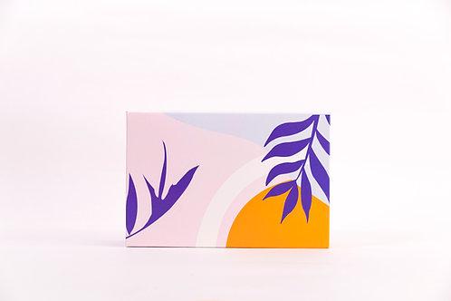 6 x 9 x 3 Lush Tropics Pre-Formed Box
