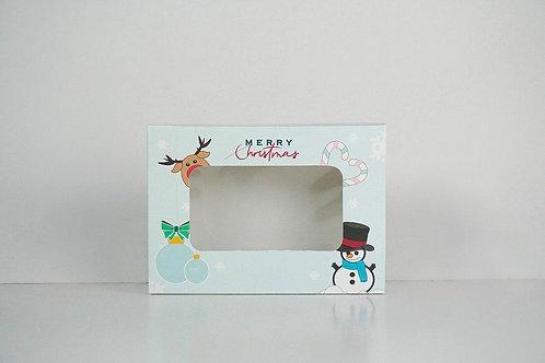 5 x 7 x 2 Snowman Pre-Formed Box