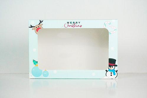 9 x 12 x 3 Snowman Pre-Formed Box