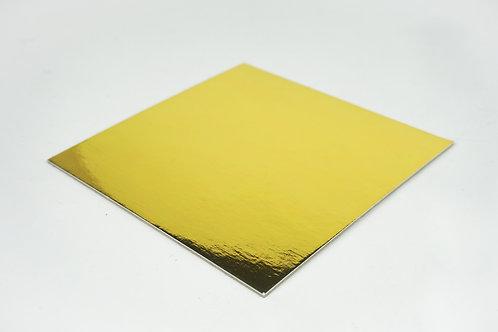 Gold Square Cake Board