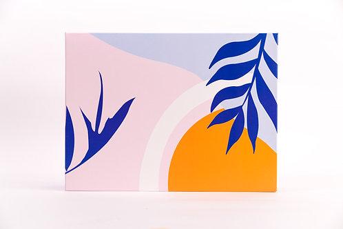 9 x 12 x 3 Lush Tropics Pre-Formed Box