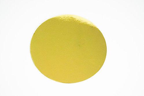 Gold Round Cake Board