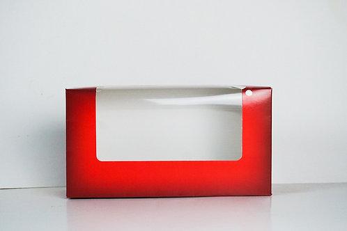 4.5 x 8.5 x 3 Naughty or Nice Santa Pre-Formed Box