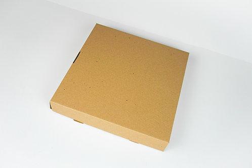 "Corrugated Pizza Box 10"" x 10"" x 1.5"""