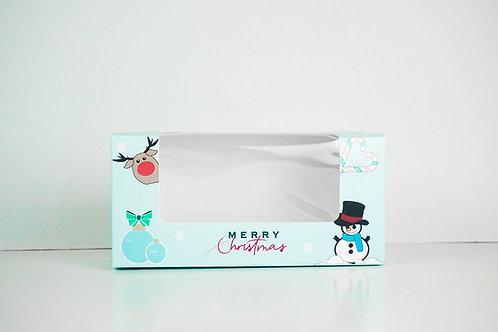 4.5 x 8.5 x 3 Snowman Pre-Formed Box