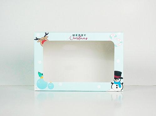 6 x 9 x 3 Snowman Pre-Formed Box
