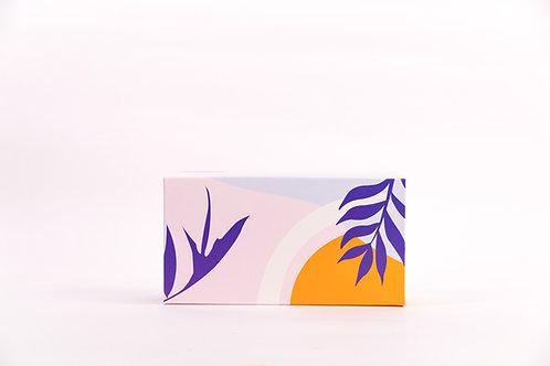 4.5 x 8.5 x 3 Lush Tropics Bio Screen Board Pre-Formed Box