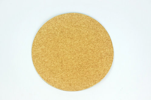 Brown Round Cake Board