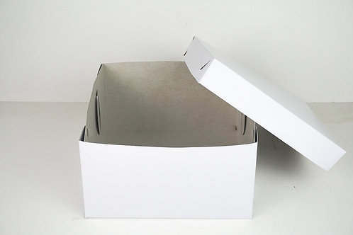 10 x 10 x 4 Body and Cover Cake Box