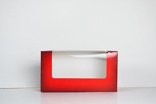 7.375 x 3.5 x 2.75 Naughty or Nice Santa Pre-Formed Box