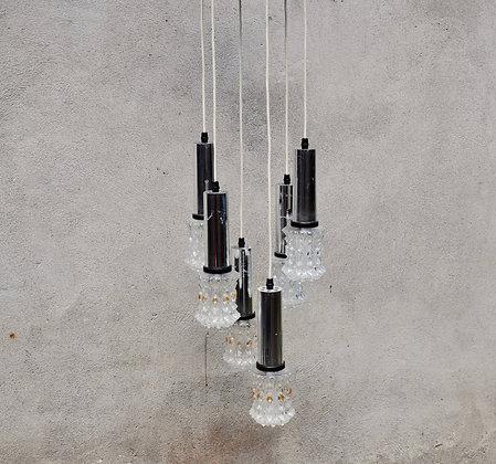 Lampe cascade vintage