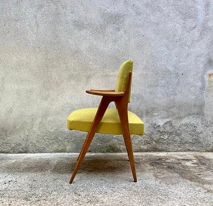 Paire de chaises année 50