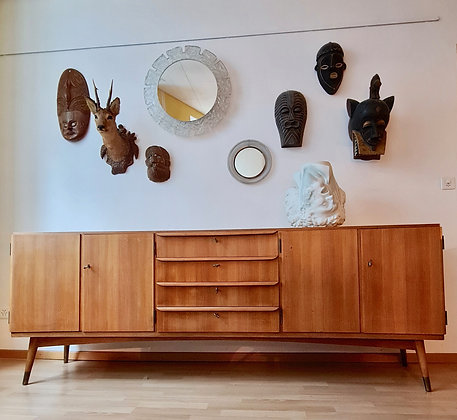 Grand sideboard années 50
