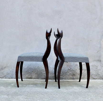 "Paire de chaises ""My dear chair"""