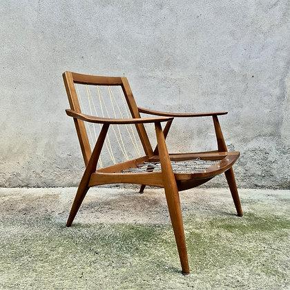 Petit fauteuil en teck