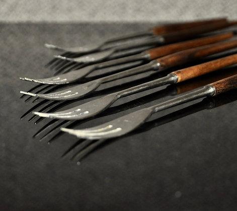 Fourchettes à fondue danoises