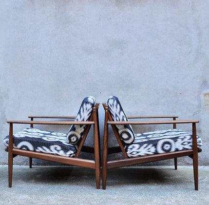 Paire de fauteuils Grete Jalk