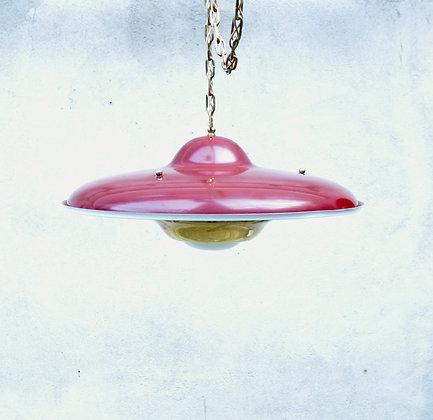 """Lampe de plafond """" Ufo"""" Rockabilly"""