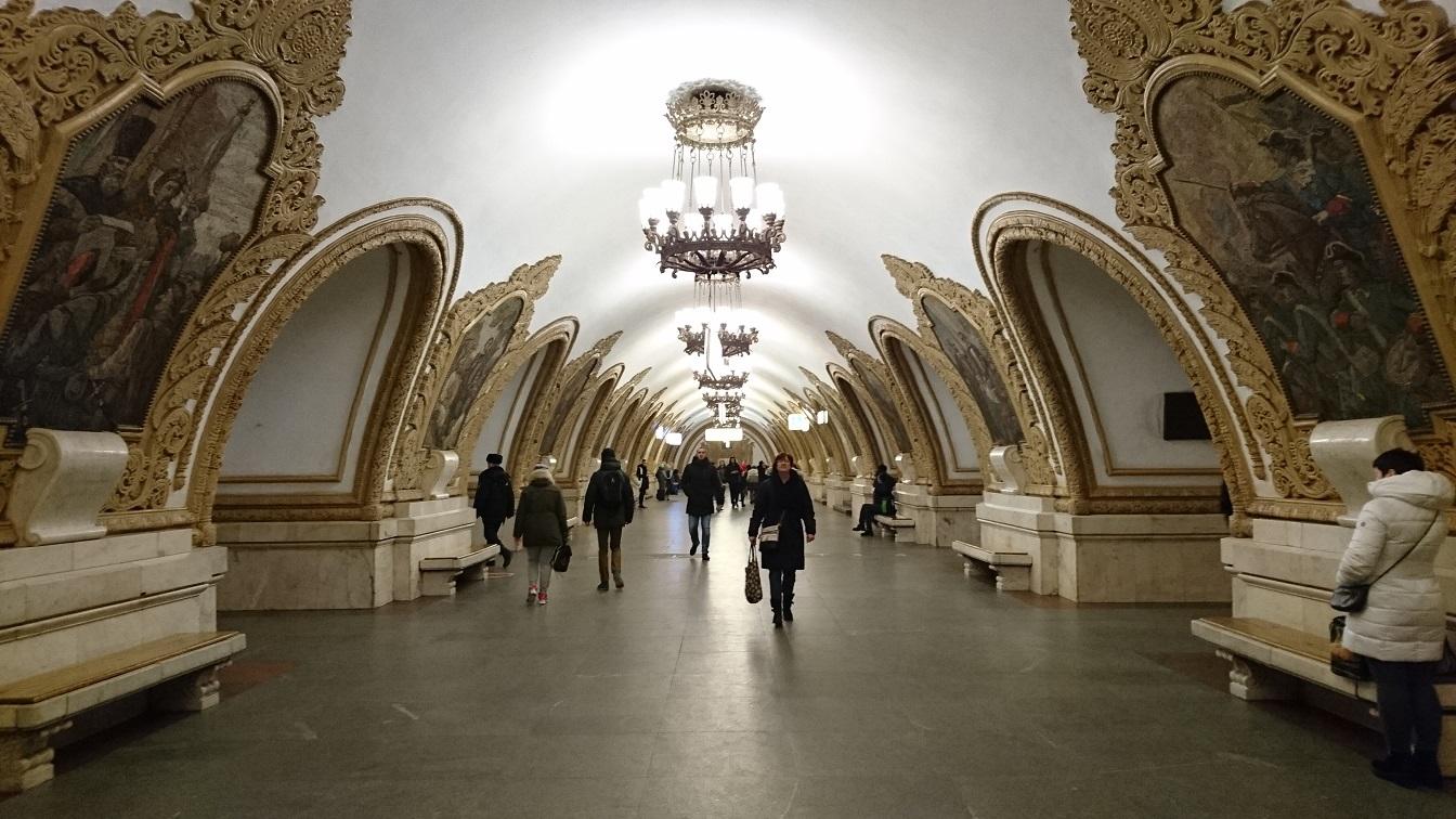 ⑤号線 キエフスカヤ駅