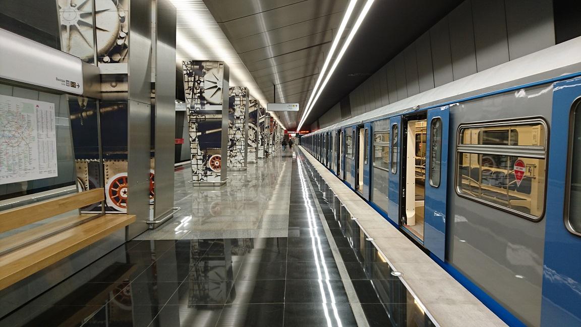 新線 ミンスカヤ駅
