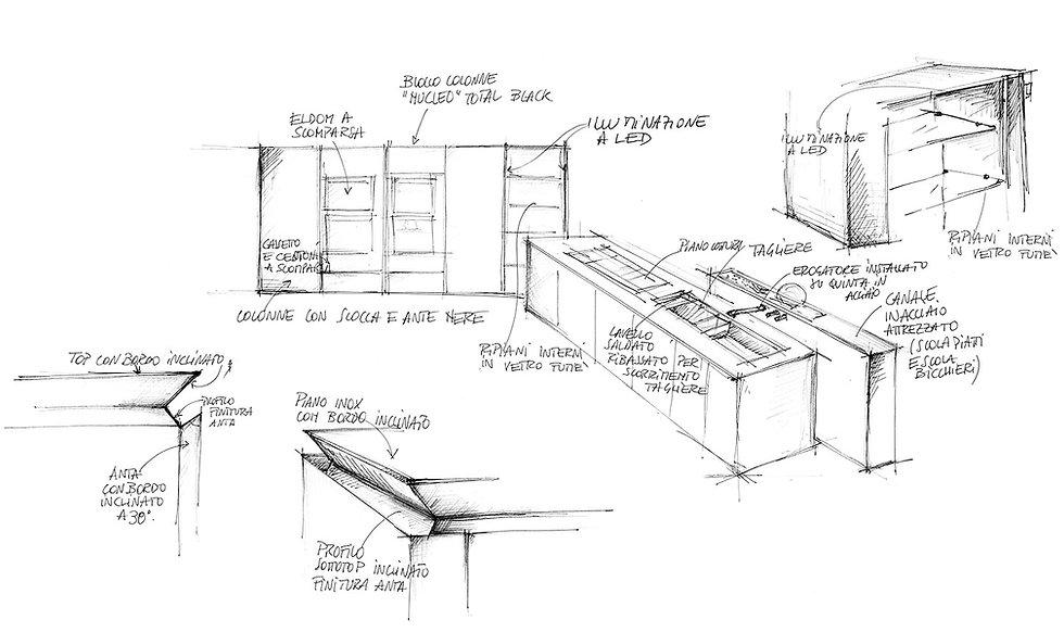 cucine, kitchens, cucine moderne, modern kitchens, tailor mad kitchens, cucina sartoriale, cucina su misura