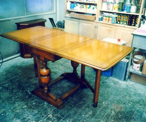 UKアンティークテーブル修理