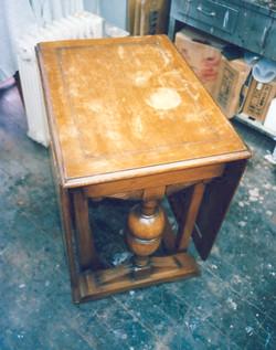 UKアンティーク・テーブル修理
