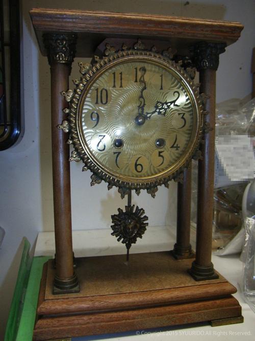 思い出の置き時計修理