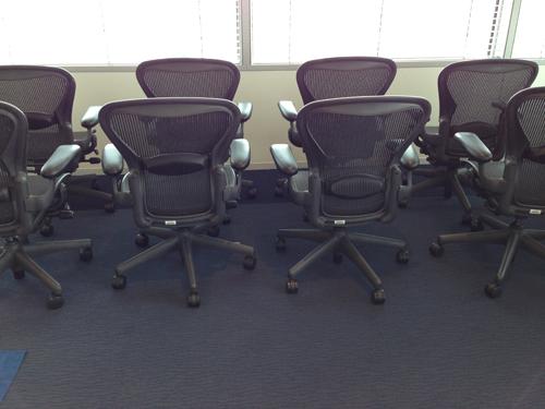 オフィス椅子傷補修