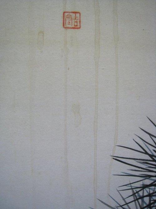 屏風の染み抜き修理
