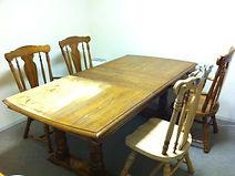 テーブル修理 テーブル塗装