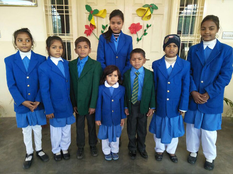 Kinderen van het Teach the Children project.